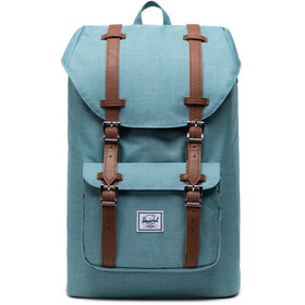 Herschel Little America Mid-Volume Zaino 17L, oil blue crosshatch